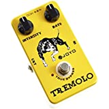 Joyo JF-09 Tremolo Guitar Pedal with True Bypass Wiring