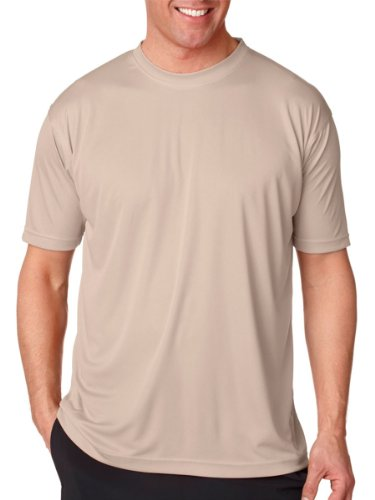 Moisture-wicking men's cool and dry sport performance tee.