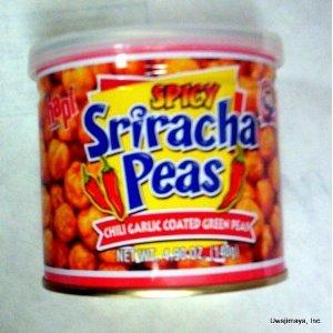 Hapi Snacks Spicy Sriracha Peas - Chili Garlic Coated Green Peas from Hapi Snacks