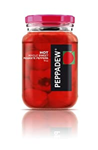 Peppadew HOT Whole Sweet Piquante Peppers - 14 Oz Jar