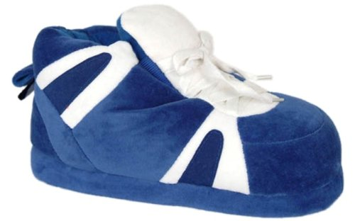 Cheap Happy Feet – Indianapolis Colts – Plain Design Slippers (B0064MIOBA)