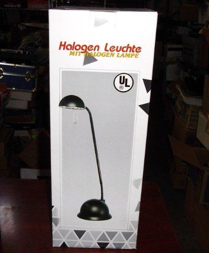 New Channel Lighting Corp. Gooseneck Halogen Black Lamp Bulb Included Cl-102Blk