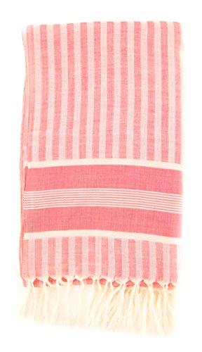 new-cesare-attolini-red-cotton-blend-scarf