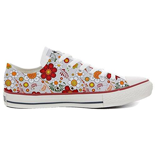 CONVERSE personnalisé All Star Low Sneaker unisex (produit artisanal) Floral Paisley
