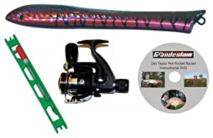 Grandeslam fish pocket rocket pen fishing rod set amazon for Pen fishing rod amazon