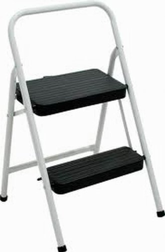 Cosco 11-692CLGH3 Folding Ascendtial Steel, 2 Step Stool, Gray