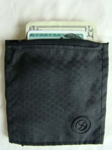 Wrist Band Wallet / Purse with Zippered Pocket. Unisex, for any age. Securely Carry Credit Cards, Cash, ID.