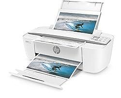 HP DeskJet 3720 (J9V95B) Multifunktionsdrucker (Drucker, Scanner, Kopierer, HP Instant Ink, WLAN, ePrint, Airprint, USB, 4800 x 1200 dpi) weiß/grau
