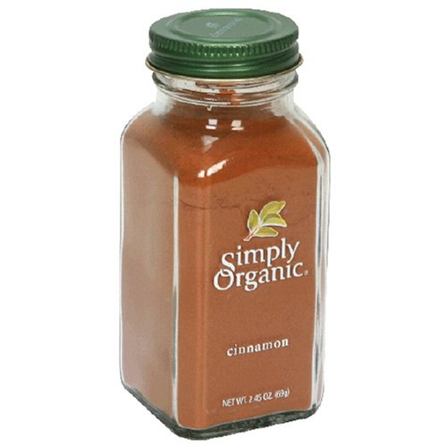 Simply Organic Cinnamon Ground Certified Organic,