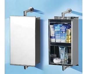 new s s revolving bathroom wall cabinet mirror unit