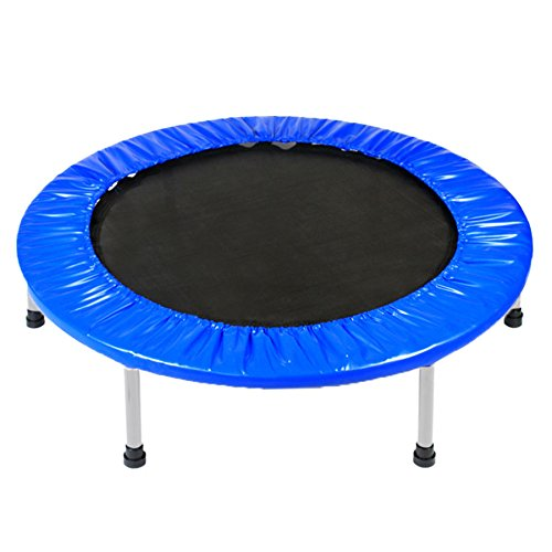 Zeny-38-Mini-Band-Fitness-Trampoline-Safe-Elastic-Exercise-Workout-w-Padding-Springs-Mini-38-Trampoline