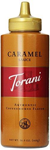 Torani Caramel Sauce, 16.5 Ounce (Pack of 6) (Organic Caramel Sauce compare prices)