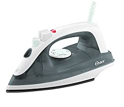 Oster 4410 1400-Watt Steam Iron (White/Grey)
