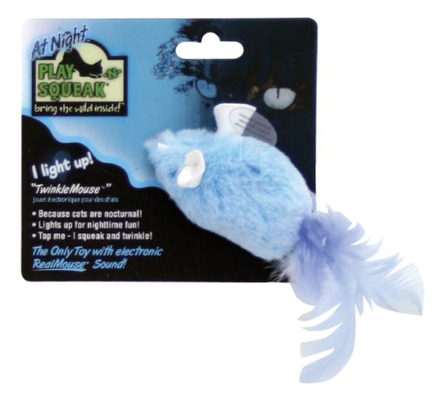 Picture TwinkleMouse Squeaking/Light-Up Cat Toy