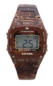 Buy Freestyle USA Shark Classic Sport Watch Brown Camo, One Size by Freestyle