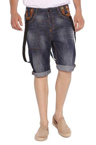 Desigual Herren Jeans Short DENIM