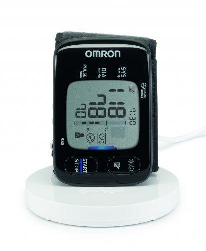 Omron RS8 - Monitor de tensión arterial con bandeja