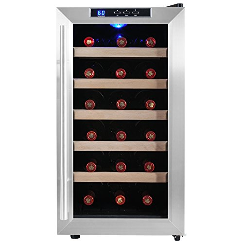 Firebird New 18-bottle Thermoelectric Quiet Operation Wine Cooler Cellar Chiller Refrigerator (Culinair Refrigerator compare prices)