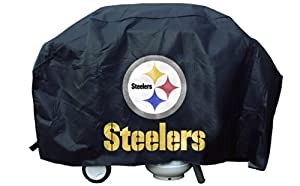 Buy Rico Industries Pittsburgh Steelers NFL Deluxe Grill Cover by Rico