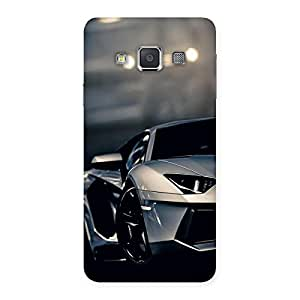 Special Royal Car Multicolor Back Case Cover for Galaxy A3