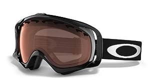 Oakley Unisex-Adult Crowbar Goggles (Jet Black,Persimmon)