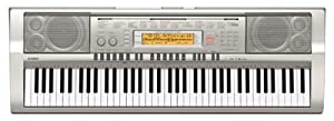 Casio WK200 76 Key Personal Keyboard Package (With Stand, Headphones and Power Supply)