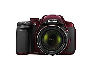 Nikon COOLPIX P520 18.1 MP Digital Camera with 42x Zoom (Red)