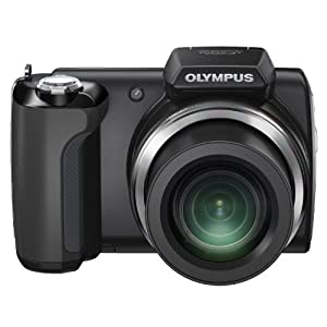 Olympus SP 610-UZ DSLR Camera with 14MP, 22x Optical Zoom and 2 inch Screen (Black)