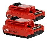 PORTER-CABLE PCC680L 20-Volt Lithium Ion Battery (2-Pack)