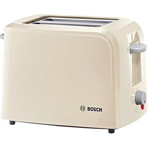 Bosch TAT3A017GB Village Toaster, 2 Slice, Cream