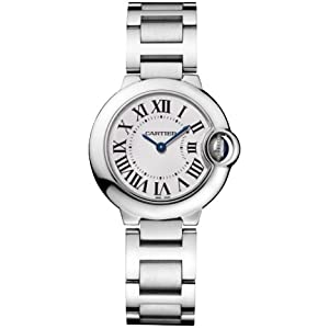Cartier Women's W69010Z4 Ballon Bleu Stainless Steel Watch from Cartier