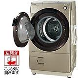 シャープ 9.0kg ドラム式洗濯乾燥機【左開き】ゴールド系SHARP プラズマクラスター洗濯乾燥機 ES-Z110-NL