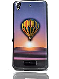 ECellStreet Sparkle Printed Back Case Cover Back Cover For Gionee Pioneer P6 -Balloon