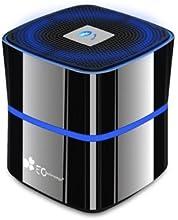 EC Technology® Mini Altavoz Inalámbrico con Bluetooth 4.0 5W Bass 8-12 horas de Música y Micrófono - Negro