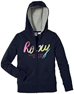 Roxy Coahoma A Pull zippé pour fille Bleu bleu marine 12 ans