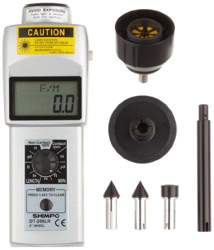 Shimpo MT-200 Dual Non-Contact//Contact Tachometer