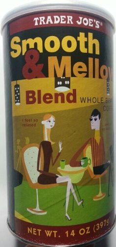 Trader Joe's Smooth & Mellow Blend 100% Arabica Roasted Whole Bean Coffee (14 Oz.) (Low Acid Instant Decaf Coffee compare prices)