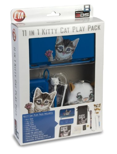 11 In 1 Kitty Cat Play Pack For Nintendo 3Ds front-1033242
