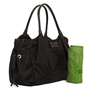 Amazon.com: Kate Spade Classic Nylon Stevie Baby Diaper Bag Tote