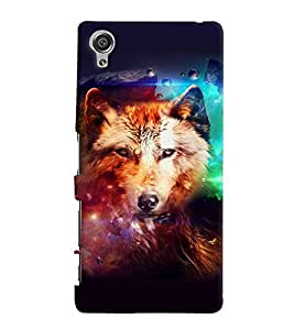 GADGET LOOKS PRINTED BACK COVER FOR Sony Xperia XA MULTICOLOR
