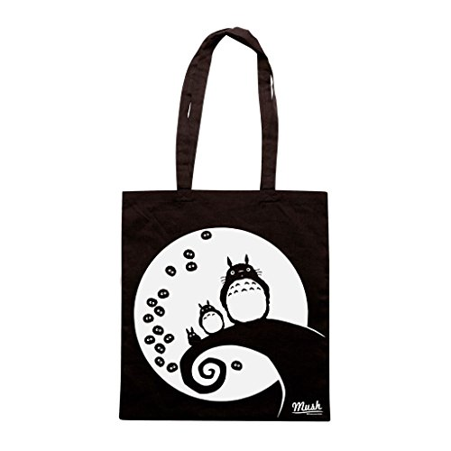 Borsa Totoro Fuliggine - Nera - Cartoon by Mush Dress Your Style