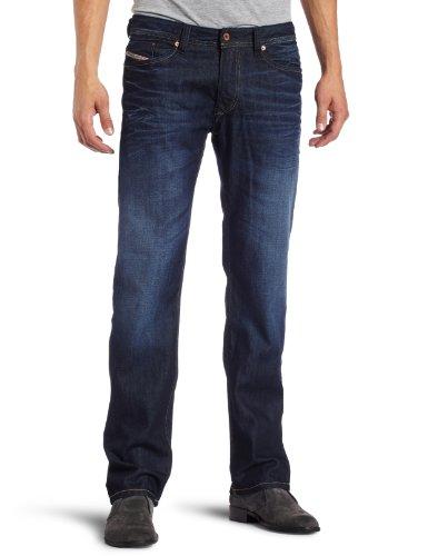 Diesel - Viker 0073N Regular / Slim Fit Jeans for Men, Size: 31W x 32L, Color: Denim