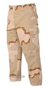 TRU-SPEC Men's Rip Stop BDU Pant, 3 Color Desert, 3X-Large