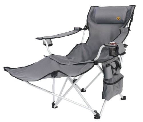 Grand Canyon Alu Folding Chair Giga - Silla de camping, color gris