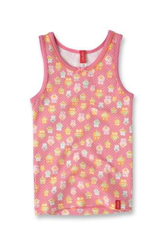 Esprit Bodywear Girls F2697/Owl Aop Undershirt Pink (Bb ) 140/146