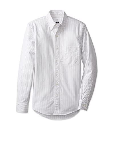 Jack Spade Men's Neal Stripe Oxford Shirt