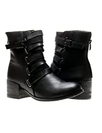 Antelope 351 Ankle Booties Womens Boots 351-Black