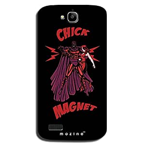 Mozine Chick Magnet printed mobile back cover for Huawei Honor holly