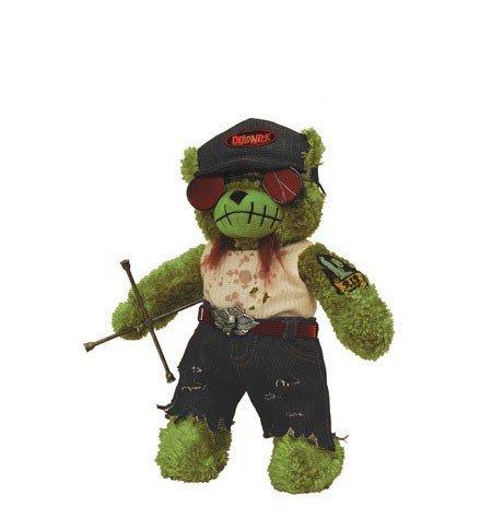 Applehead Factory - Teddy Scares série 2 peluche Eli Wretch 30 cm