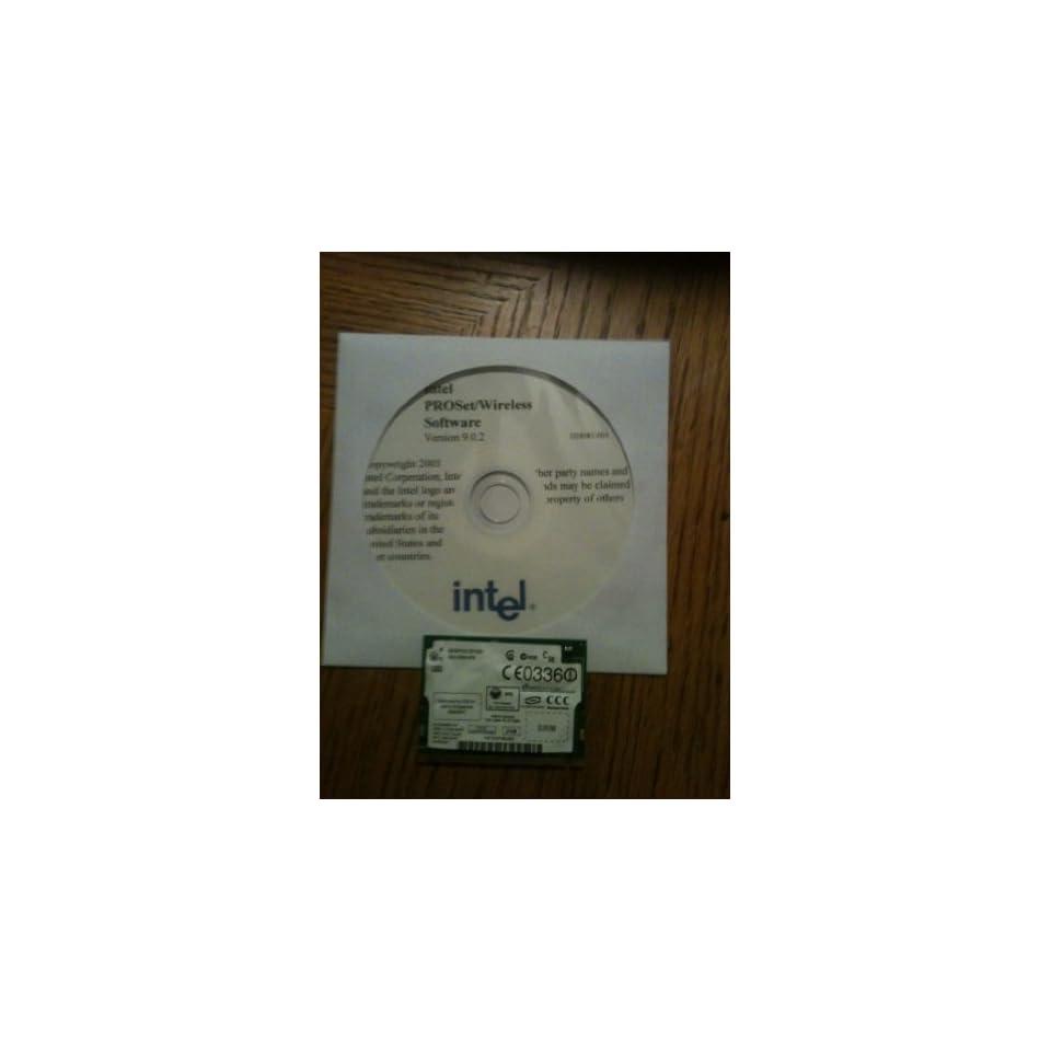 DELL Inspiron 600M INTERNAL WIRELESS CARD WIFI MINI PCI W/ INSTALL CD